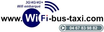 Wifi bus taxis bateaux 3G/4G/4G+
